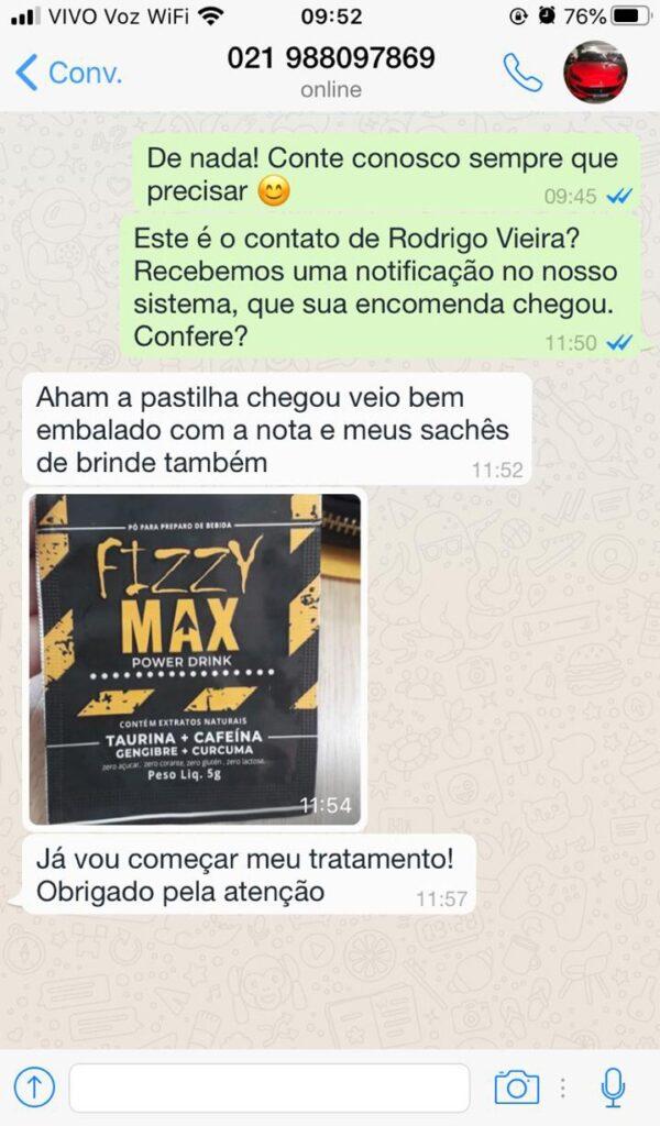 Depoimento sobre o Fizzy Max