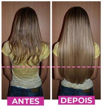 Antes e depois Big hair